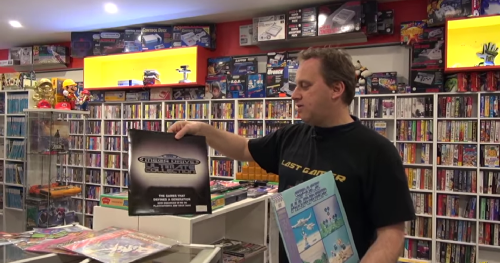 Watch this video tour of Last Gamer's record-holding game collection screenshot