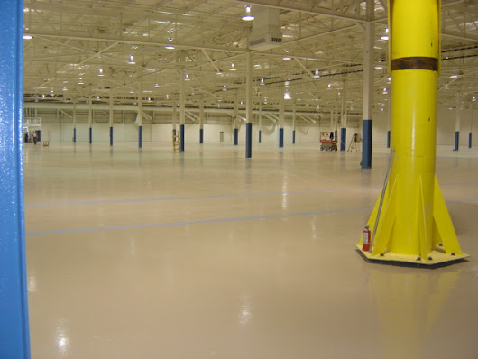 Polymer Flooring Systems For Industrial & Manufacturing Facilities
