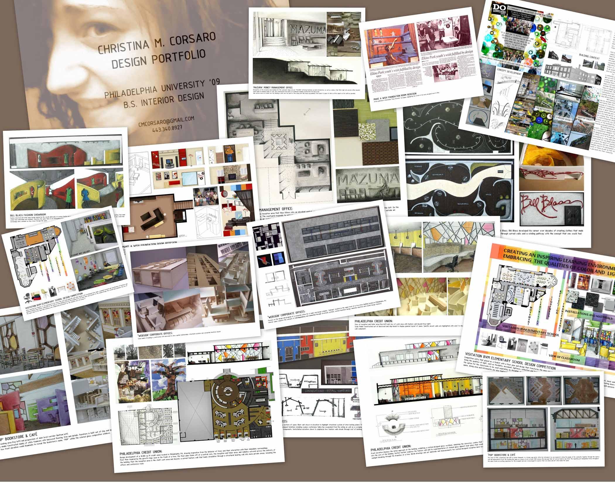 Philadelphia University Interior Design Portfolio by ...