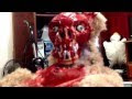 Peek A Boo Teddy Bear With Ripped Off Face Is From Your Nightmare - Video