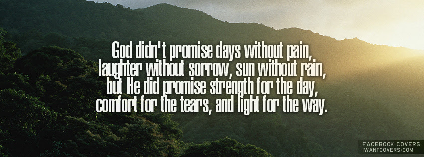 God Didnt Premise Days Without Pain Laughter Without Sorrow Sun