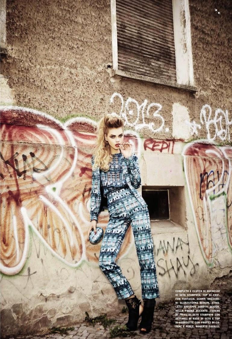 Line Brems 'An Unconventional Mood' Ellen Von Unwerth For Vogue Italia 10