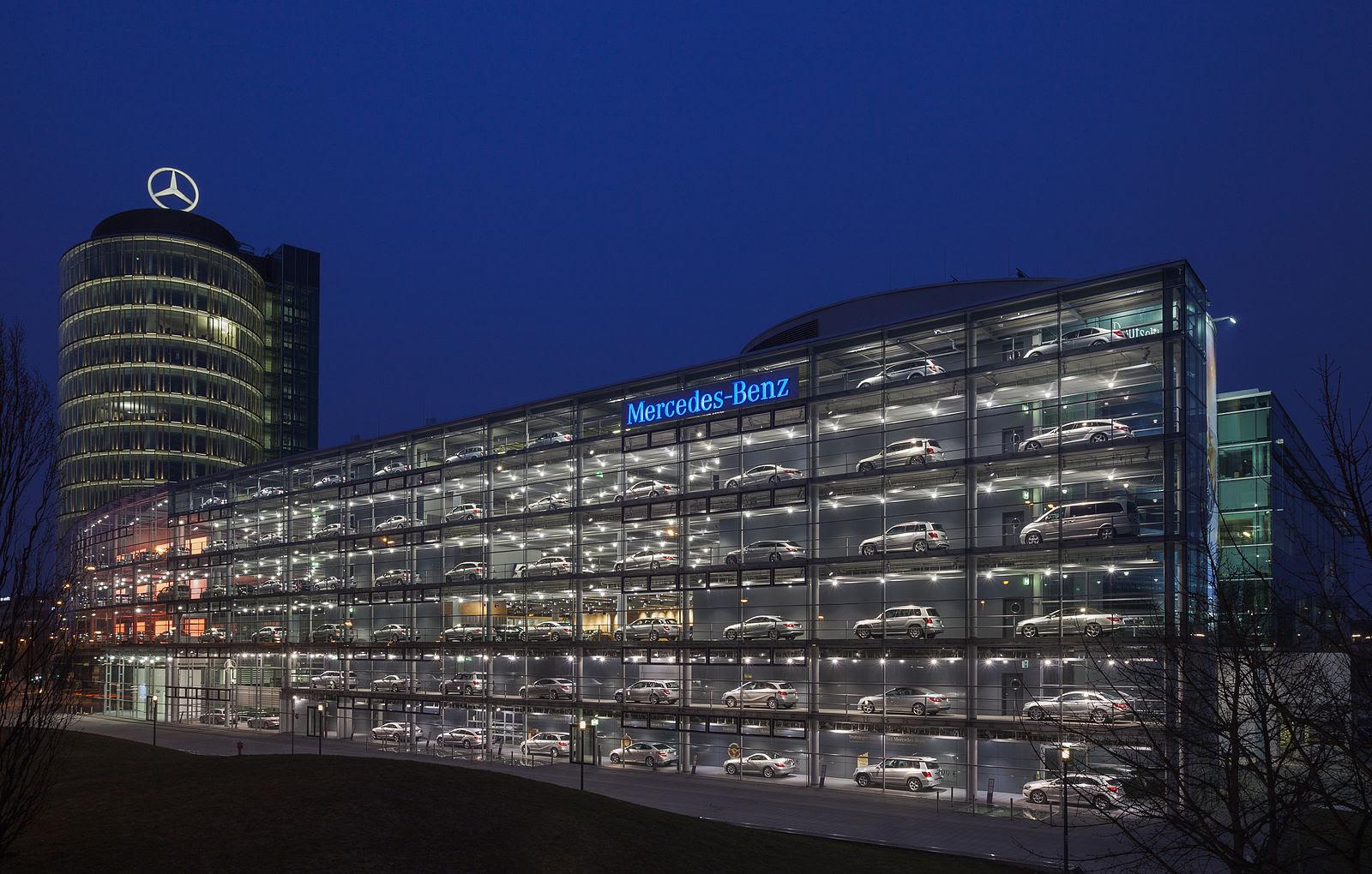 Mercedes Benz Dealership in Munich Germany [1600x1020 ...