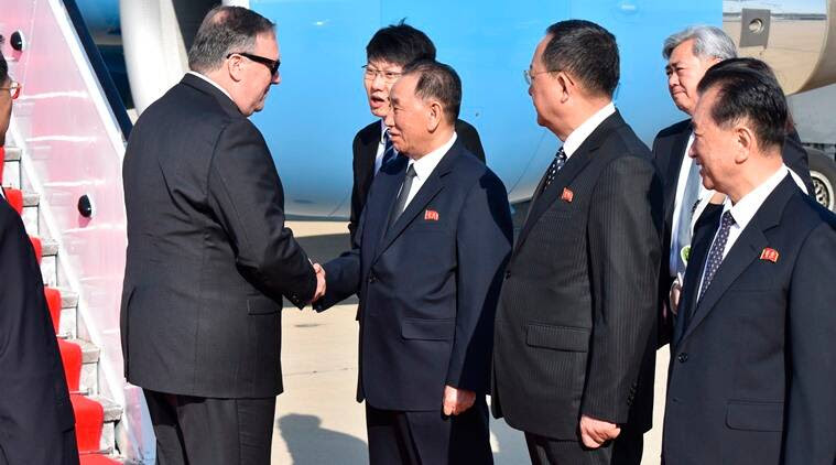Mike Pompeo, North Korea VC Kim Yong Chol hold talks in US