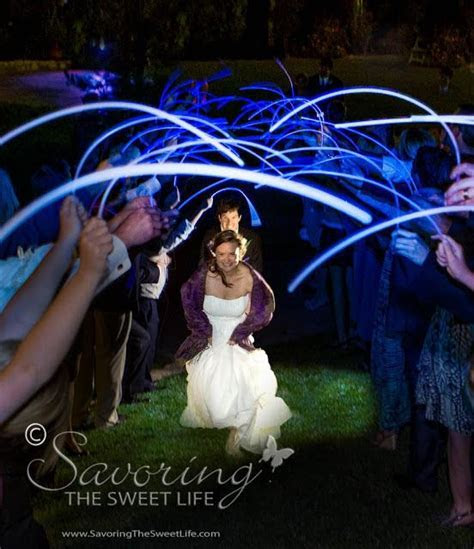 17 Best images about Glow Sticks Wedding Send Off Ideas on