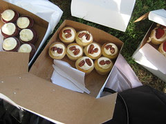 butter pecan cupcakes from Ivy bakery
