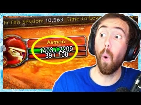 Asmongold Shows His Favorite Classic WoW Addons & Reacts to