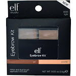 e.l.f. Cosmetics Gel & Powder Eyebrow Kit, Light, 0.123 oz