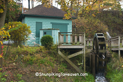 Artesian Well, Pumphouse, and Waterwheel, Stephenson County, Illinois