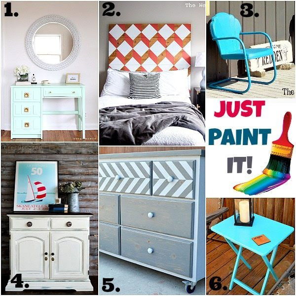 Painted Furniture Ideas & Inspiration Monday