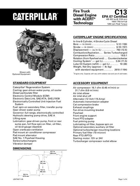 Cat Diesel Engine C 13