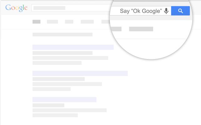 Desktop Chrome (OK Google extension, image 001)