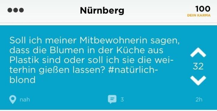 Nürnberg Schlüpfrige Bilder Und Plumpe Sprüche Neue App Jodel