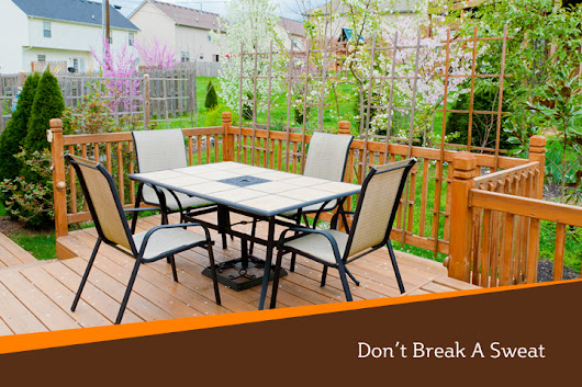 Deck Construction: 4 Fall Weather Installation Tips | Iron River Construction