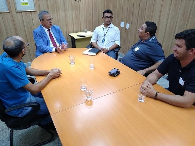 Deputado Hermano, recebe visita da comitiva de secretários da cidade de Jardim de Angicos