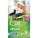 Purina Cat Chow Indoor Formula Dry Food - 3.15 lb bag