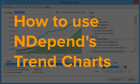 How to Use NDepend's Trend Charts - NDepend