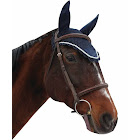 Equine Couture Fly Bonnet with Silver Rope