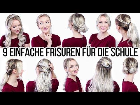 смотреть онлайн бесплатно Schöne Flecht Frisuren Alltag Schule