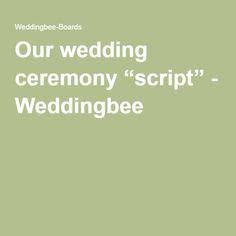 1000  ideas about Wedding Ceremony Script on Pinterest