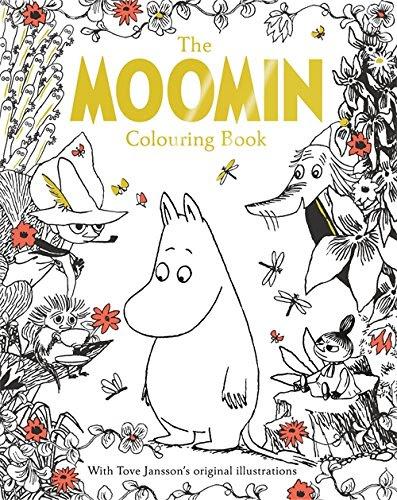 英語で塗り絵を楽しむthe Moomin Colouring Book動画有