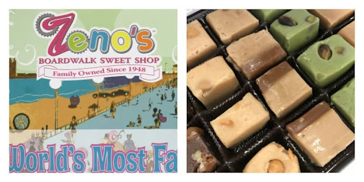 Celebrate Your Sweet Tooth With Zeno's Boardwalk Sweet Shop Giveaway