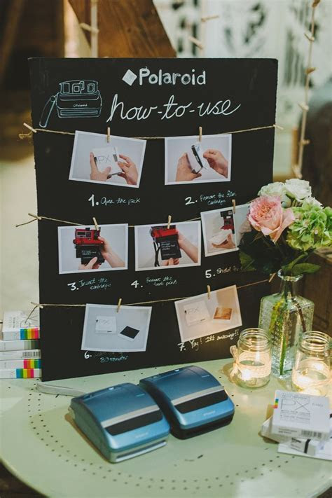 17 Best ideas about Polaroid Guest Books on Pinterest