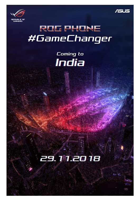 ROG Smartphone To Launch In India This November | GeekSnipper