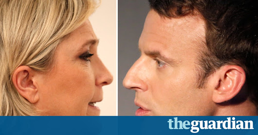 French election: Emmanuel Macron and Marine Le Pen estimated to be through to second round – live | World news | The Guardian