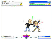 Jogar Gates vs jobs the game Jogos