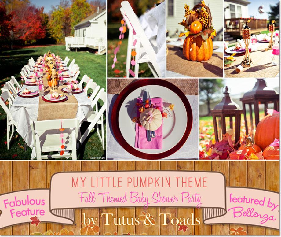 My Little Pumpkin Feature A Fall Themed Baby Shower
