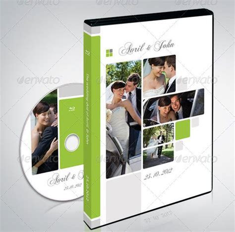 CD & DVD Cover PSD   Graphic Design   Cover template