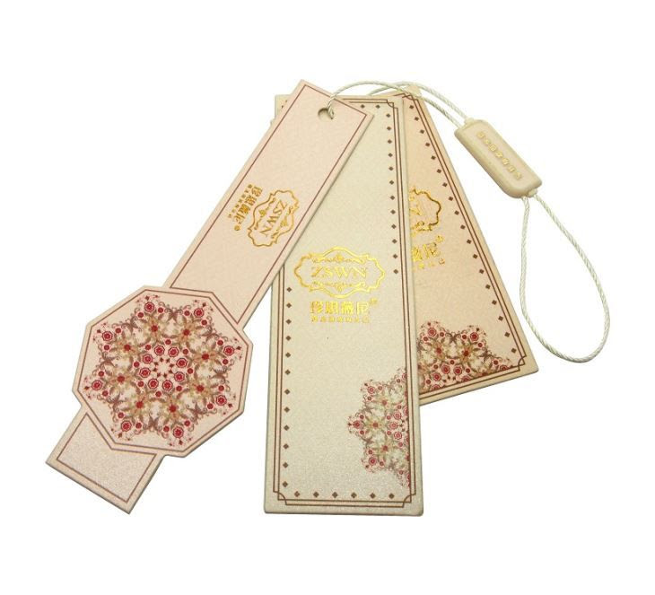 China Luxury Suit Dress Brand 3 Piece Hang Tags Factory
