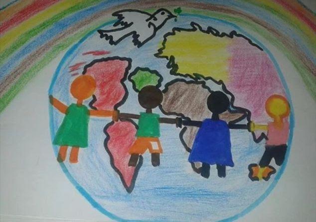 Colori Per La Pace I Disegni Dei Bimbi Per I Grandi Della Terra
