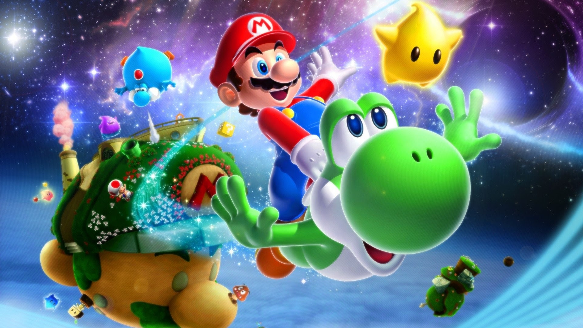 Super Mario Galaxy 2 Wallpaper Hd 77 Images