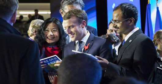 "Macron offers 18 scientists the chance to ""Make Our Planet Great Again"""