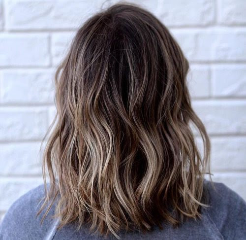 Prima Long Bob Balayage Blond