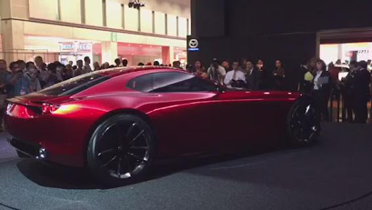 "Mazda UK PR on Twitter: ""RX-VISION close up at the #TokyoMotorShow """