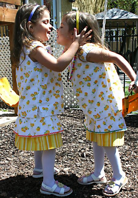 twirly skirts & girls