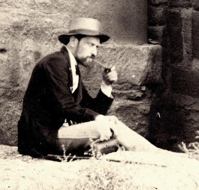 ¿Jean Laurent fotografiado por Charles Clifford?