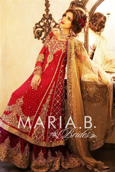 Maria B Latest Bridal Collection 2018   BestStylo.com