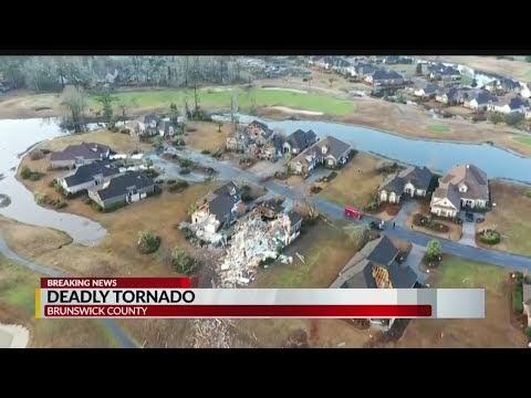 BRUNSWICK COUNTY: Three killed ten injured after tornado strikes Brunswick County