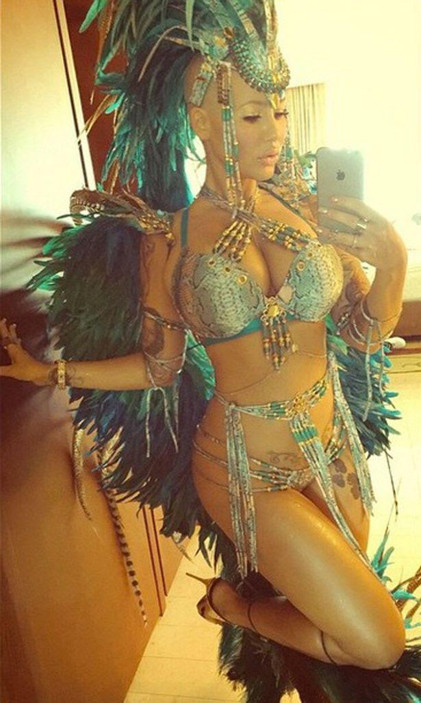 Amber Rose carnival instagram