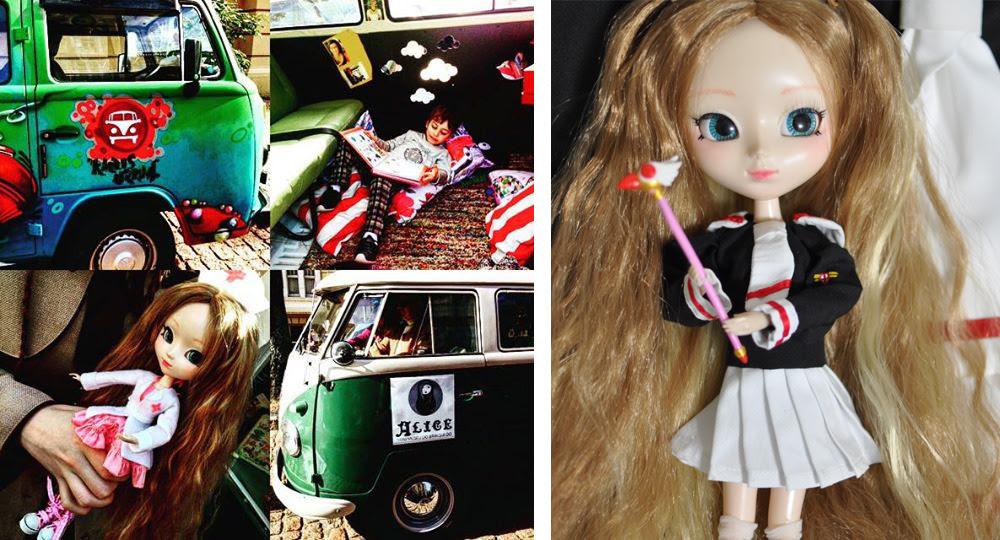 bonecas e a Kombina