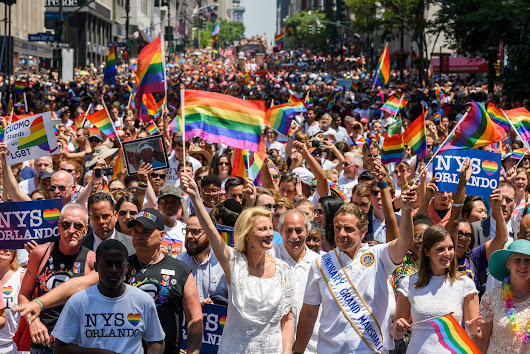 The NYC Pride March will be televised live for the first time ever this year