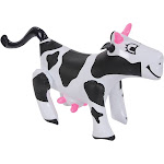 Dairy Cow Farm Animal Inflatable 17""