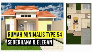 3fuzziblog: Denah Rumah Minimalis Type 54 3 Kamar