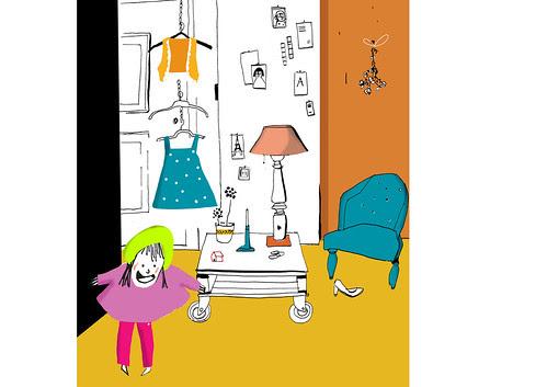 Children's Illustration by la casa a pois