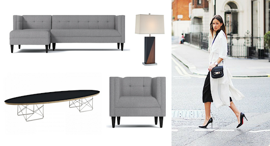 On The Streets + In The Sheets: Fashion Meets Home Design
