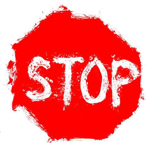 grunge stop sign png transparent onlygfxcom